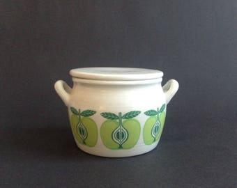 Arabia Finland Pomona Apple Jam Jar with Lid
