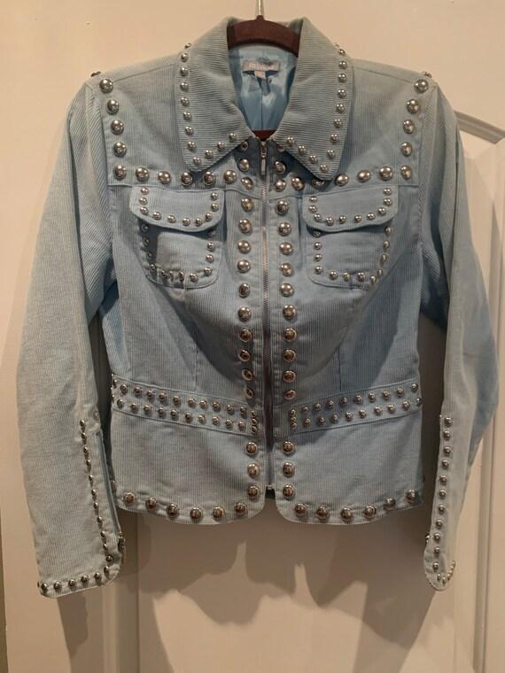 Vintage Studded Corduroy Jacket