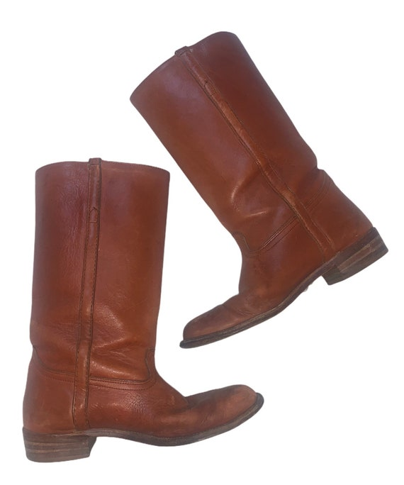1970s Vintage Frye Riding Boots