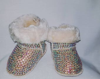 Baby bling boots