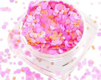 mix glitter solvent resistant