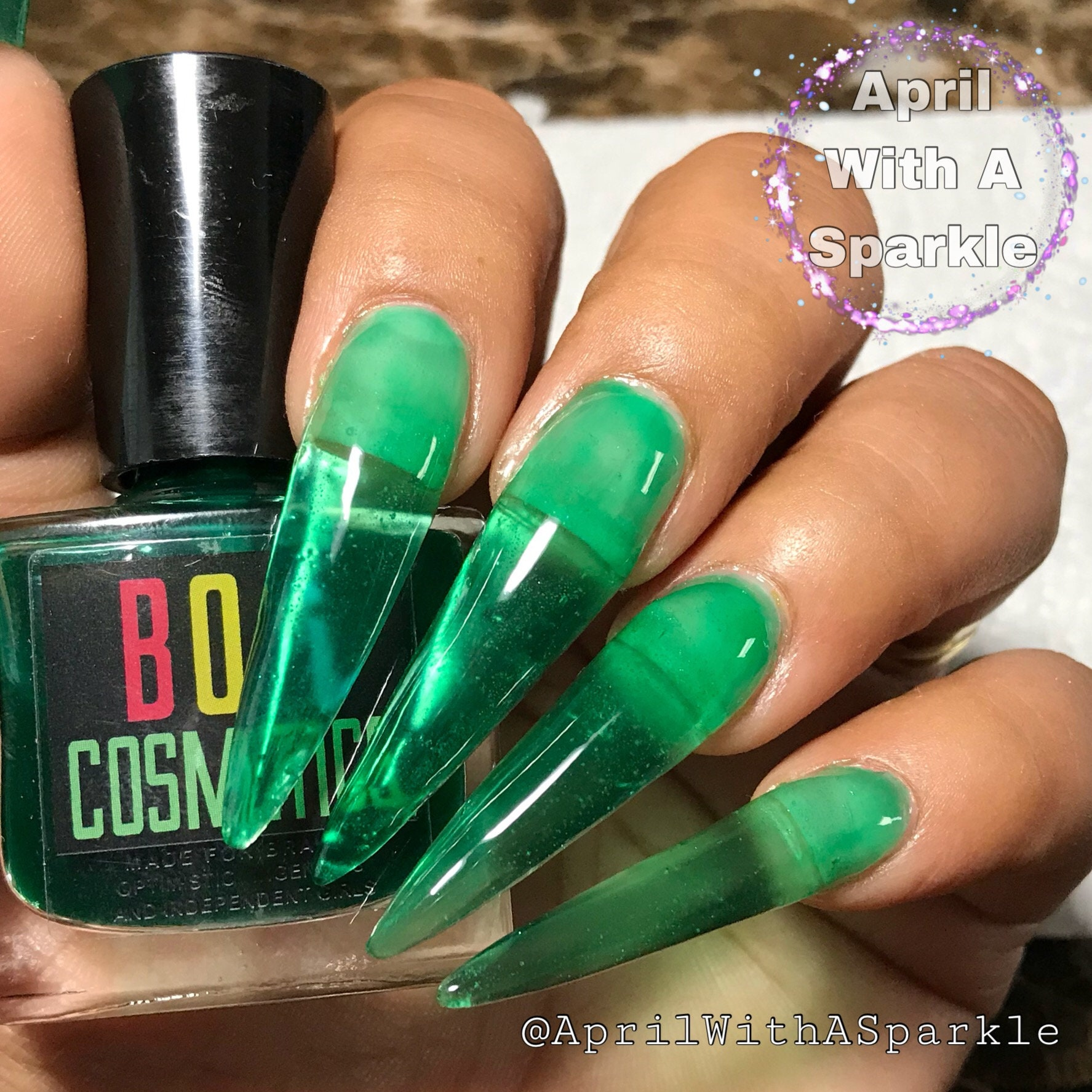 Jelly Nails Jelly Nail Polish Sour Lime Jelly