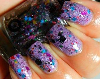 Boii Nail polish purple Bliss