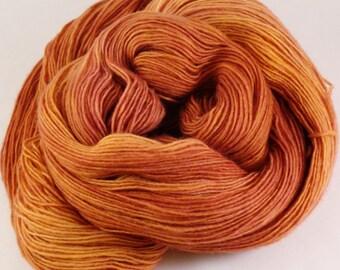 Hand Dyed Yarn - Unraveled Fingering - Jupiter