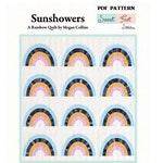 Sunshowers PDF Quilt Pattern - A Rainbow Quilt