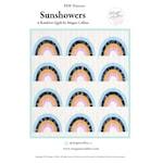 PDF Sunshowers Quilt Pattern - A Rainbow Quilt