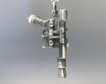 Han Solo blaster silver