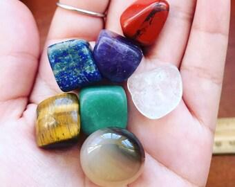 Chakra set ~chakra stones ~chakra Crystals ~reiki