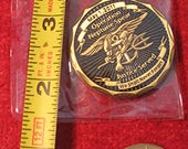 Military 39 challenge coin 39 - trade 39 em or collect e 39 m 9-11 SEAL coin commemorating world trade center SEAL Team Bin Laden mission.