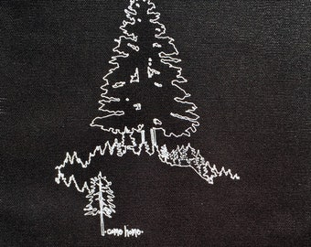 come home- tree back patch