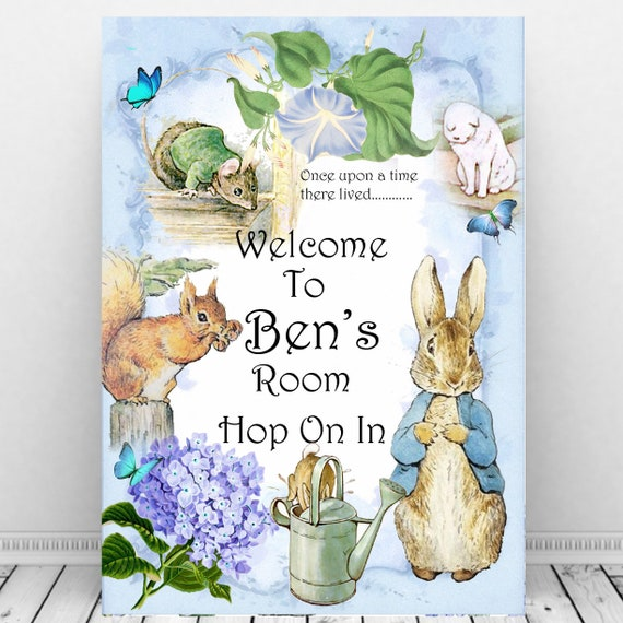 10 X PERSONALISED PETER RABBIT SQUIRREL NUTKIN BIRTHDAY PARTY INVITATIONS