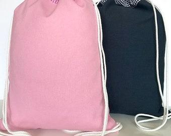 Sports bag canvas like backpacking sports bag