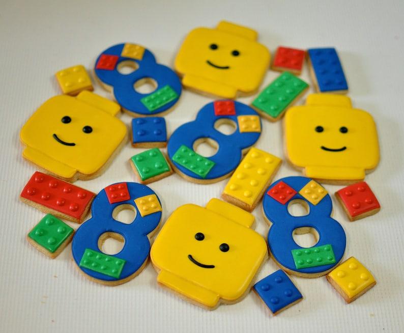 Building Block Birthday Cookies image 0