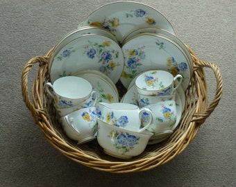 Gorgeous Royal Doulton Bone China Tea Set