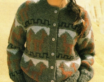 Knit pattern aztec | Etsy