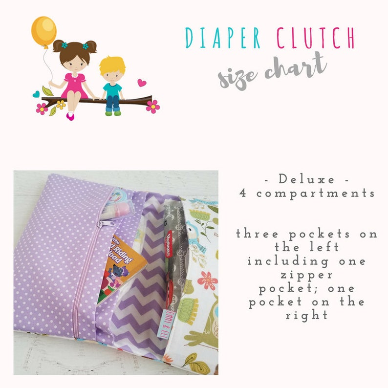 Gray Diaper Bag Woodland Diaper Clutch Bag Gender Neutral Diaper Bag Diaper Bag Set Diaper Pouch Small Diaper Bag Nappy Bag