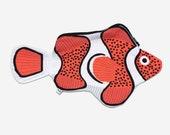 CLOWNFISH - fish case