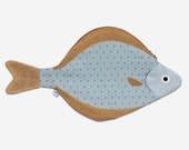 SMALL HALIBUT - fish purse