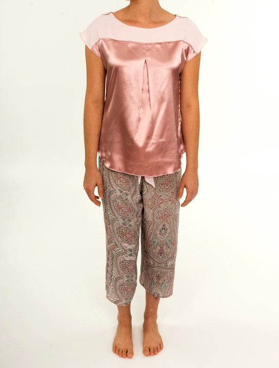 a089cba7b4a Women s Pajamas Ladies Summer Fall Two-piece Sleep Set