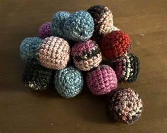 Bonito Flake Crochet Ball
