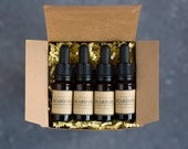 Beard Oil Gift Set - Vegan Cruelty Free Beard Grooming and Care. Glass Bottles, Plastic Free Shipping And Packaging.