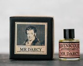 "Men's Cologne ""Mr Darcy"" - Myrrh, Pine Needle, Cedarwood & Tea Tree. Natural Botanical Fragrance For Men. 10 ml"