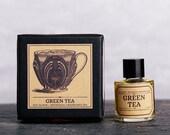 Green Tea Fragrance - Unisex Oil Fragrance, 10 ml. Natural Botanical Perfume.