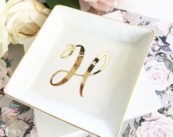 Jewelry Dish Monogram Jewelry Dish Ring Dish Monogram Dish Bridesmaid Ring Dish Bridesmaid Jewelry Dish (EB3180SM)