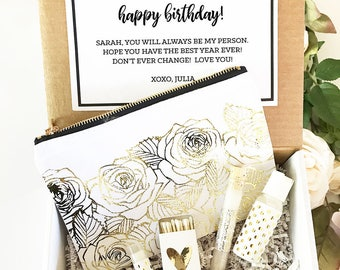 Birthday Gift Sets For Women Her Baskets Best Friend Long Distance EB3231SPA