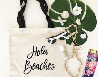 Hola Beaches Tote Hola Tote Bag (EB3216CT)
