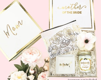 Mother of the Bride Gift from Bride from Groom Mother of the Groom Gift from Son Mom Gift Basket Thank You Mom Gift Box (EB3171MOM) EMPTY
