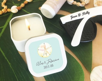 a8f3dc2cec38 Beach Wedding Favor Ideas - Beach Theme Wedding Favors - Beach Favor Ideas  - Beach Bridal Shower Favors Candles (EB2077TPB) - 12