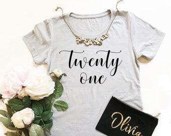 21st Birthday Shirt -Birthday Girl Shirt 21st Birthday Gift -30th Birthday Shirt -40th, 50th, 60th Birthday (EB3249BIR) BIRTHDAY GIRL tshirt