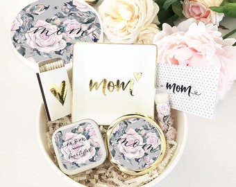 Mom Birthday Gift Box From Daughter Basket Ideas EB3250RSGMOM GIFT SET