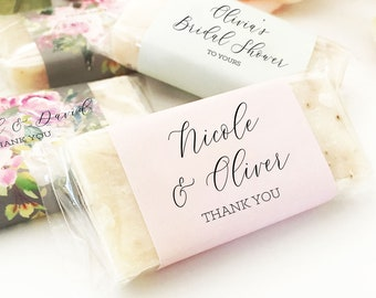 Wedding Soap Favors Wedding Favors Soap Useful Wedding Favors Unique Wedding Favor Ideas 3| (EB3274CT) - set of 15