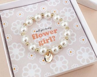 flower girl gift bracelet