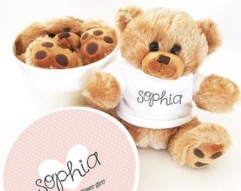 Flower Girl Proposal Bear Flower Girl Gifts for Toddlers Flower Girl Proposal Baby Flower Girl Stuffed Animal Gift (EB3272CT) Teddy Bear