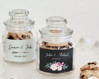 Wedding Favor Jars Etsy