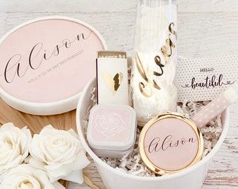 Pink Bridesmaid Box Blush Bridesmaid Proposal Will You Be My Bridesmaid Box Set (EB3250AD) - Bridesmaid Gift Box Set - Bridesmaid Gift Ideas