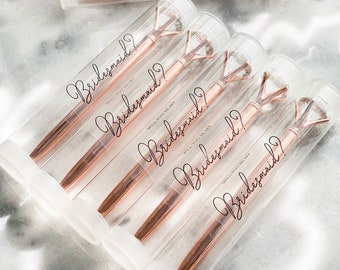 Will you be my Bridesmaid Proposal Gift Unique Bridesmaid Gifts Cheap Bridesmaid Gift on a Budget Bridesmaid Gift (EB3303NP) - Diamond Pens