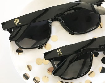 937017764c9 Monogrammed Gifts Monogram Sunglasses Bridesmaid Unique Bridesmaid Gifts  for Her Bachelorette Party Gifts Bridal Party Gifts (EB3217M)