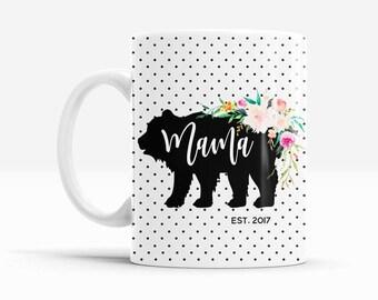 Mothers Day Mug - Mothers Day Gift Ideas - Mama Mug - Mom Coffee Mug - Mothers Day Cup  (EB3219BBY)