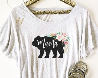 Mama Bear Shirt Momma Bear Shirt Mom Shirt Mothers Day Gift Mothers Day Shirt New Mom Shirt Baby Shower Gift Maternity Shirt (EB3202RTB)