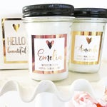 Personalized Bridesmaid Candle Bridesmaid Proposal Gift Maid of Honor Proposal Matron of Honor Proposal (EB3251P)