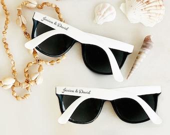 ee623d6e1f Beach Wedding Favors Sunglasses Custom Sunglasses for Beach Theme Wedding  Ideas Beach Wedding Favors Beach (EB3107) - SET of 24