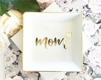 Christmas Gifts For Mom Gift Ideas Ring Dish Jewelry Birthday EB3180MOM