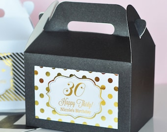 30th Birthday Favors Party Adult Favor Themes Dirty 30 EB2313FY Set Of 12