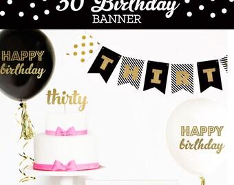 30th Birthday Decor