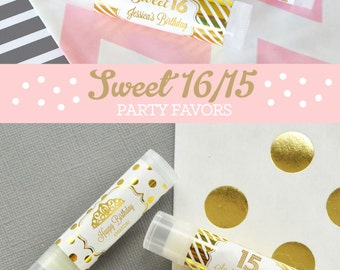 Sweet Sixteen Favors Etsy
