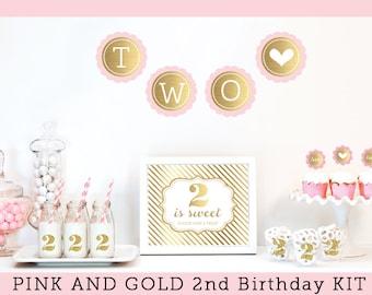 Items Similar To Baby Girl 1st Birthday Theme Baby Girl 1st